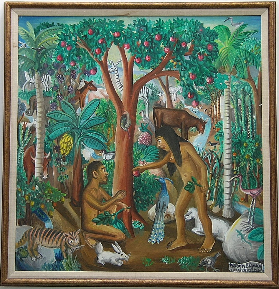 Haitian Art Wilson Bigaud artist paintings
